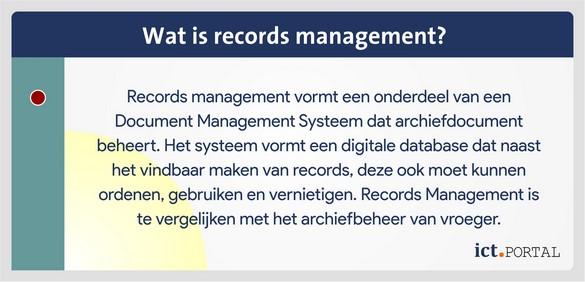 alfresco records management definitie