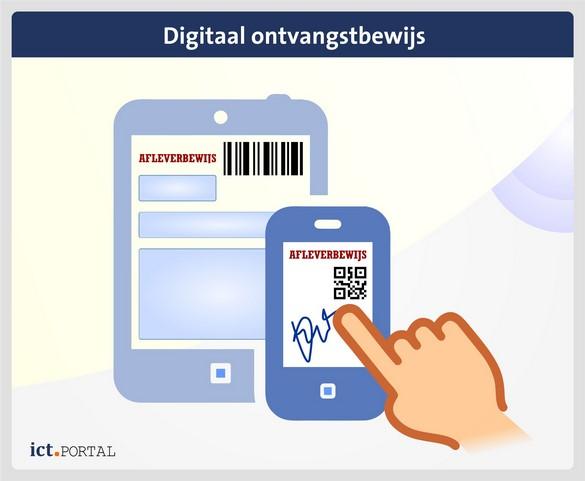 digitaal afleverbewijs logistiek