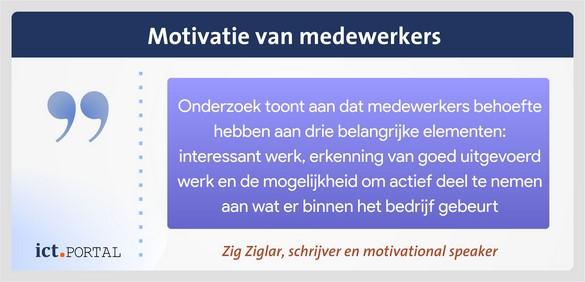 motivatie medewerkers adoptie