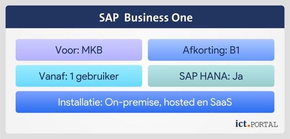 sap business one overzicht