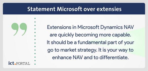 statement microsoft nav 2017 extensies